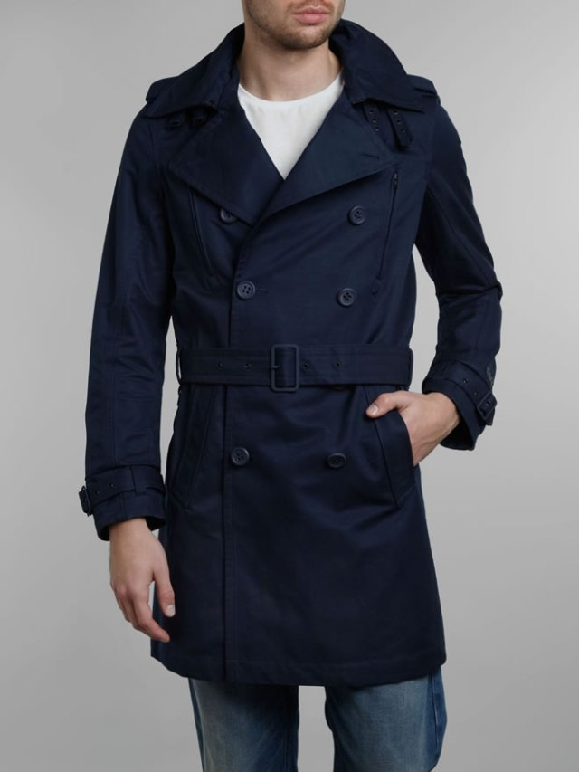 Amazoncom trench coat men  Clothing  Men Clothing