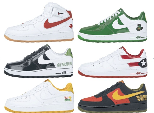 Юбилей у Nike Air Force 1